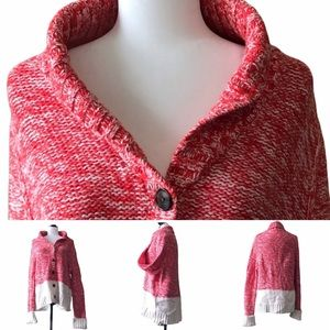 GAP Knitted Button Up Sweater